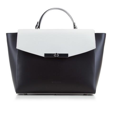 Női táska, fekete és fehér, 88-4E-002-1, Fénykép 1