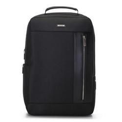 Férfi  laptop hátizsák, fekete, 91-3U-200-1, Fénykép 1