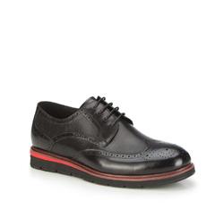 Férfi cipő, fekete, 87-M-920-1-44, Fénykép 1