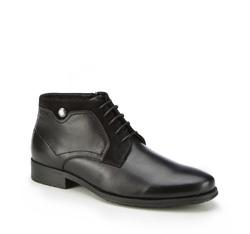 Férfi cipő, fekete, 87-M-934-1-45, Fénykép 1