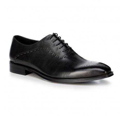Férfi cipő, fekete, 88-M-813-8-43, Fénykép 1