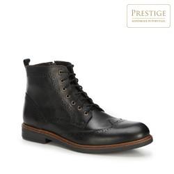 Férfi cipő, fekete, 89-M-350-1-45, Fénykép 1