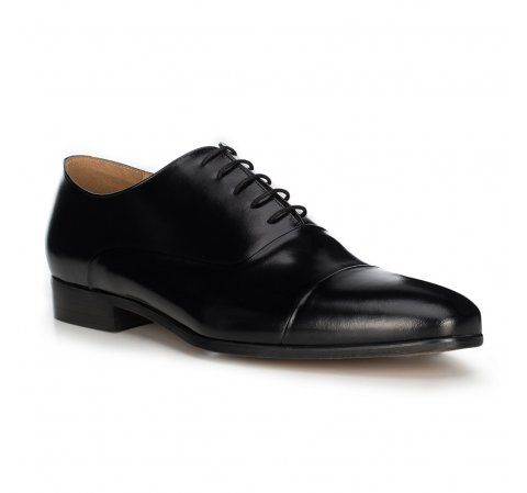 Férfi cipő, fekete, 89-M-700-5-45, Fénykép 1