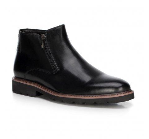 Férfi cipő, fekete, 89-M-922-1-45, Fénykép 1
