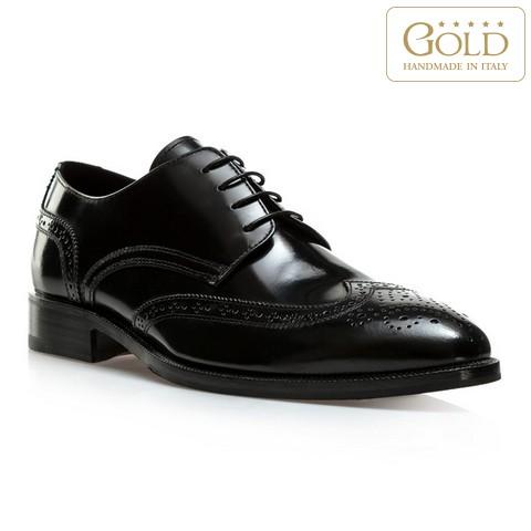 Férfi cipő, fekete, BM-B-584-1-45, Fénykép 1