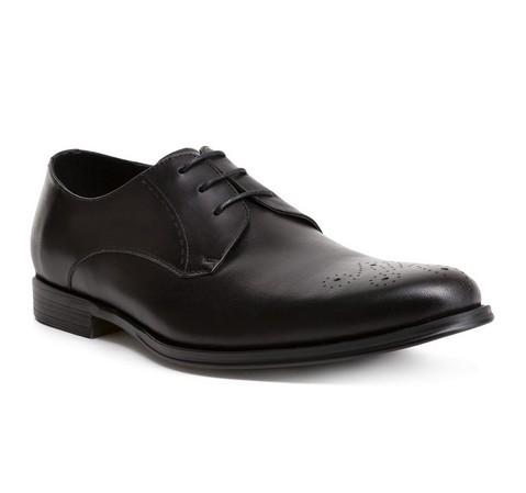 Férfi cipő, fekete, 84-M-908-4-44, Fénykép 1