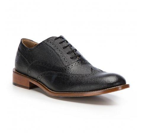 Férfi cipő, fekete, 86-M-053-1-44, Fénykép 1