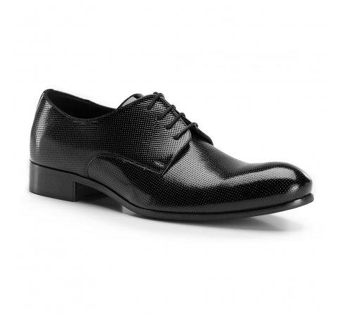 Férfi cipő, fekete, 86-M-608-1-41, Fénykép 1