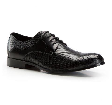 Férfi cipő, fekete, 86-M-801-1-43, Fénykép 1