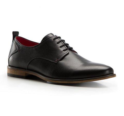 Férfi cipők, fekete, 86-M-808-7-44, Fénykép 1