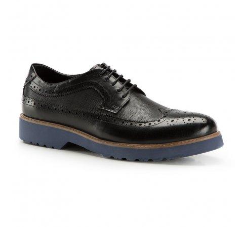 Férfi cipők, fekete, 86-M-914-7-44, Fénykép 1