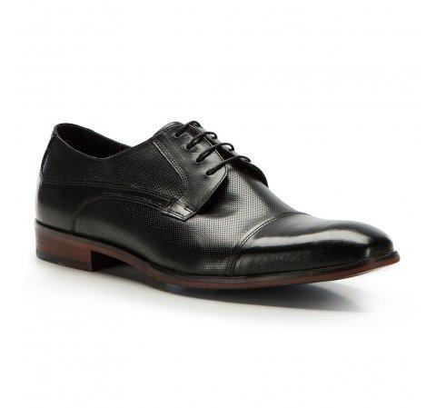 Férfi cipők, fekete, 86-M-922-1-44, Fénykép 1