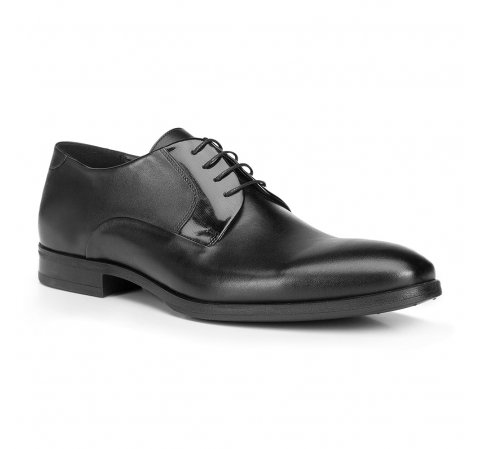 Férfi cipő, fekete, 87-M-601-7-44, Fénykép 1