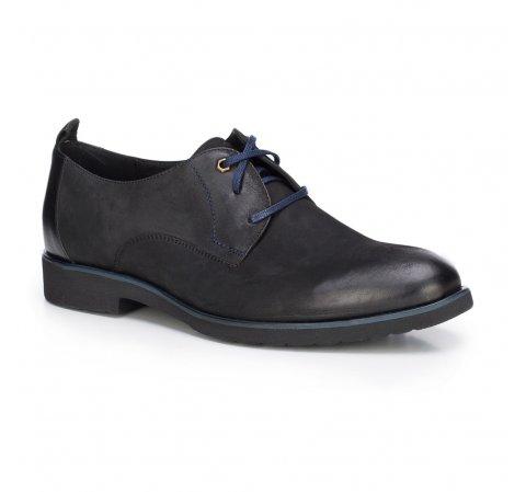 Férfi cipő, fekete, 87-M-605-1-42, Fénykép 1