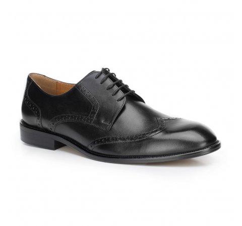 Férfi cipő, fekete, 87-M-701-1-42, Fénykép 1