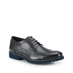 Férfi cipő, fekete, 87-M-808-1-41, Fénykép 1