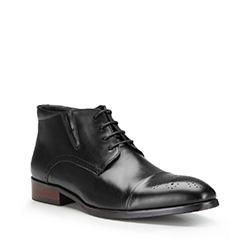 Férfi cipő, fekete, 87-M-823-1-42, Fénykép 1