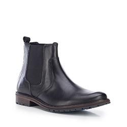 Férfi cipő, fekete, 87-M-851-1-45, Fénykép 1