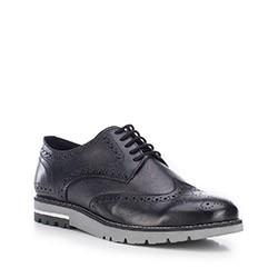 Férfi cipő, fekete, 87-M-854-1-45, Fénykép 1