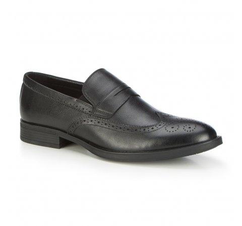 Férfi cipő, fekete, 87-M-900-1-42, Fénykép 1