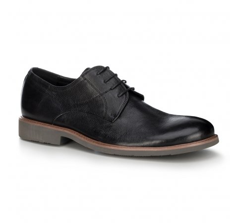 Férfi cipő, fekete, 88-M-805-5-39, Fénykép 1