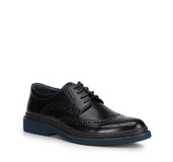 Férfi cipő, fekete, 89-M-502-1-45, Fénykép 1