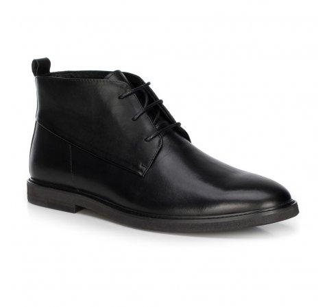 Férfi cipő, fekete, 89-M-513-4-44, Fénykép 1