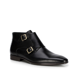 Férfi cipő, fekete, 89-M-514-1-43, Fénykép 1