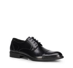 Férfi cipő, fekete, 89-M-902-1-44, Fénykép 1