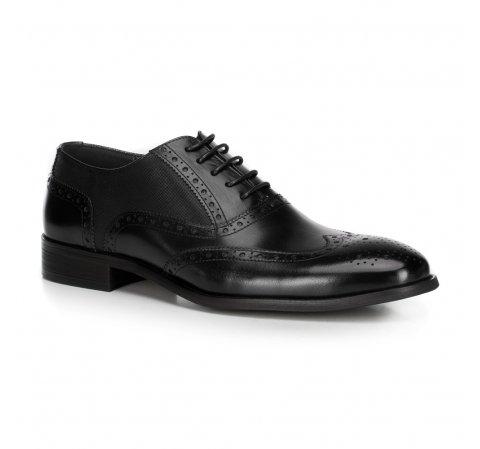 Férfi cipő, fekete, 89-M-906-2-45, Fénykép 1
