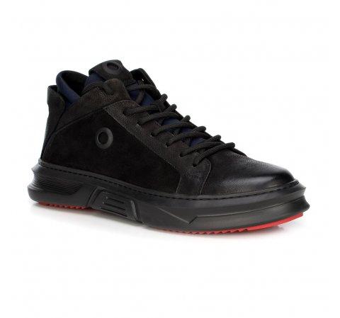 Férfi cipő, fekete, 89-M-909-1-40, Fénykép 1