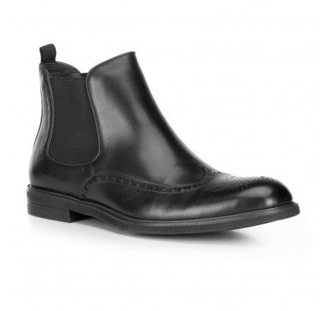 Férfi cipő, fekete, 89-M-914-4-41, Fénykép 1
