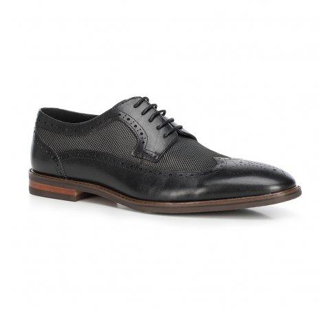 Férfi cipő, fekete, 90-M-509-1-41, Fénykép 1