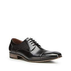 Férfi cipők, fekete, 90-M-910-1-39, Fénykép 1