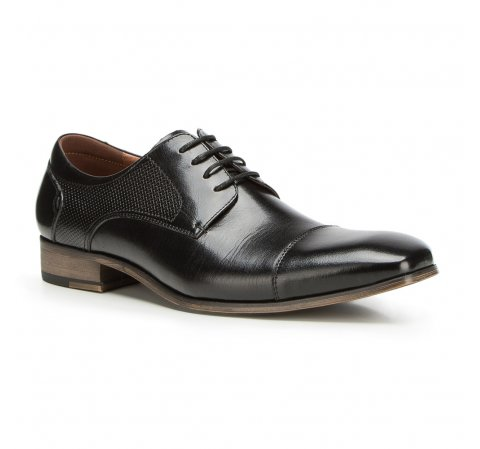 Férfi cipők, fekete, 90-M-910-5-39, Fénykép 1