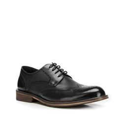 Férfi cipők, fekete, 90-M-919-1-43, Fénykép 1