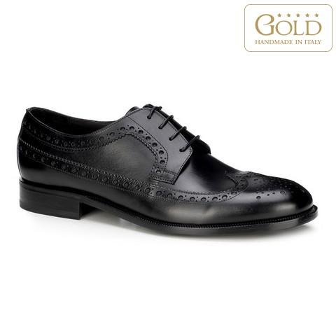Férfi cipő, fekete, BM-B-585-1-41, Fénykép 1