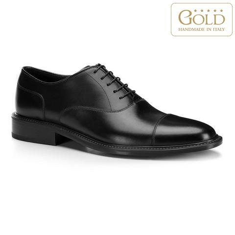 Férfi cipő, fekete, BM-B-588-1-46, Fénykép 1