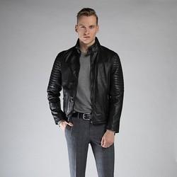 Férfi kabát, fekete, 90-09-252-1-M, Fénykép 1
