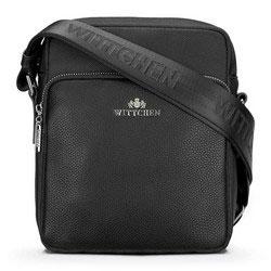 futár táska, fekete, 89-4-565-1, Fénykép 1