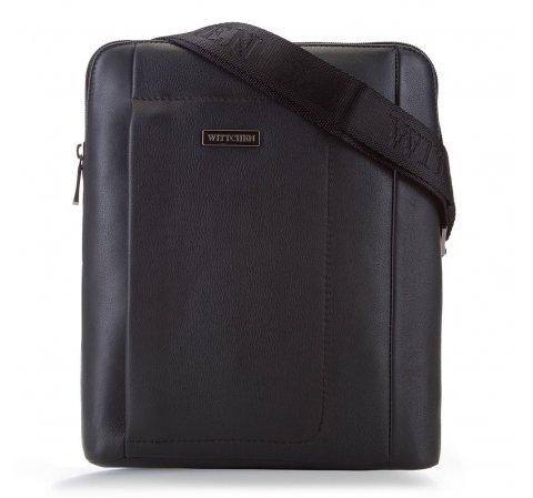 futár táska, fekete, 90-4U-252-1, Fénykép 1