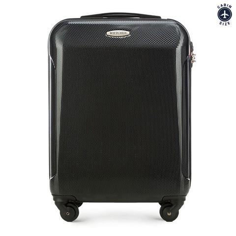 Kabinbőrönd  polikarbonátból egyenes, fekete, 56-3P-971-91, Fénykép 1