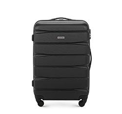 Közepes bőrönd, fekete, 56-3A-362-10, Fénykép 1