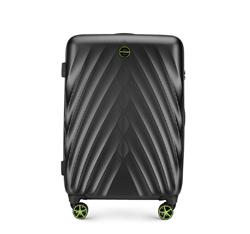 Közepes bőrönd, fekete, 56-3P-802-10, Fénykép 1