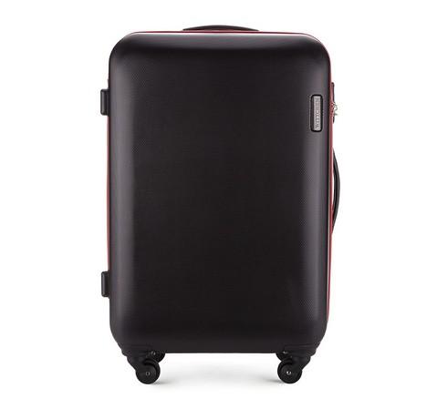 Közepes bőrönd, fekete, 56-3-612-85, Fénykép 1
