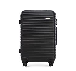 Közepes bőrönd, fekete, 56-3A-312-11, Fénykép 1
