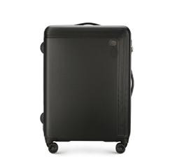 Közepes méretű bőrönd, fekete, 56-3A-622-10, Fénykép 1