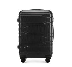Közepes bőrönd, fekete, 56-3P-982-11, Fénykép 1
