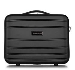Utaző kozmetikai neszeszer  ABS, fekete, 56-3A-654-10, Fénykép 1