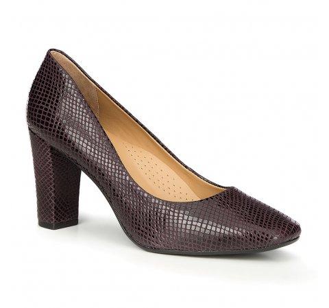 Női cipő, fekete-lila, 87-D-708-9-36, Fénykép 1